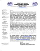 Letter for Professionals (sample)