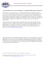 Donation Press Release nov2013